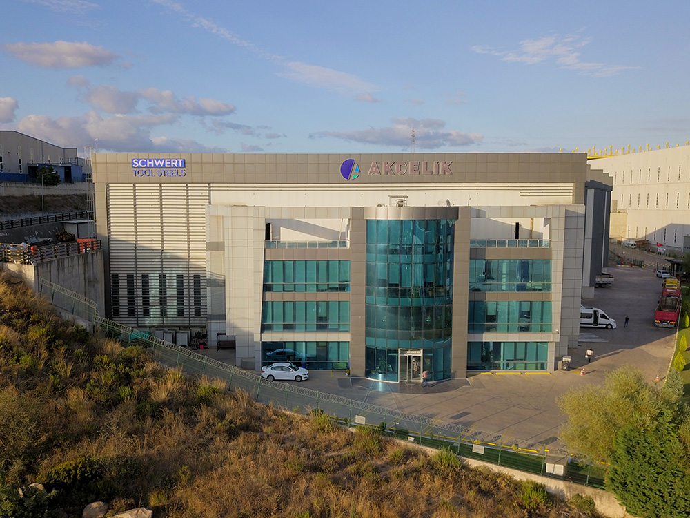 Distribution center at TOSB Industrial Zone in Kocaeli, TR